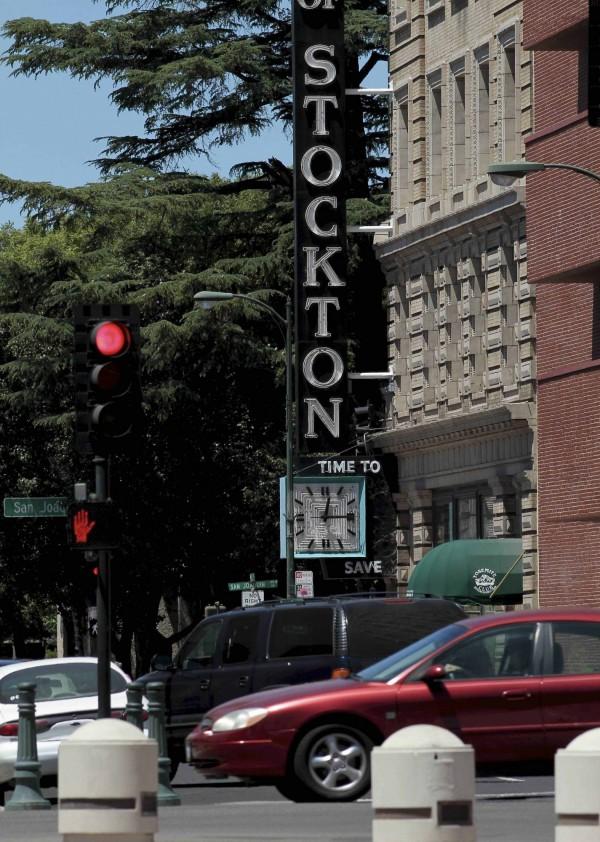 加州的史塔克頓市(Stockton)治安相當不好,截至今年7月初就有23人遭謀殺。(路透)