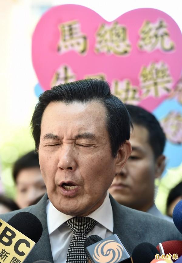 起訴書揭露,馬英九上任總統不到半個月,中投訴訟基金便從3千萬翻倍至6千萬元。(記者羅沛德攝)
