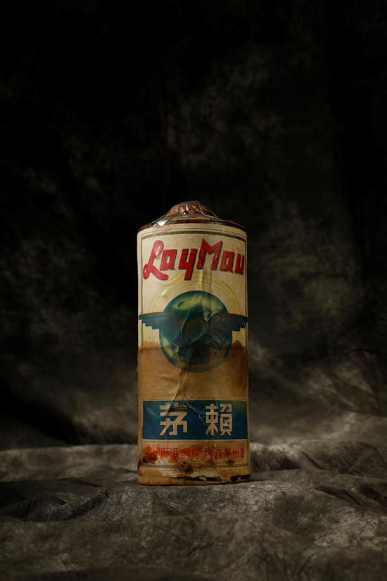 一瓶1940年代的陳年茅台酒「賴茅」以人民幣172萬元(約新台幣791萬元)的價格拍出。(圖擷取自網路)