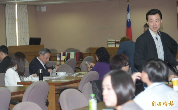 立法院朝野黨團31日針對同婚議題協商。(記者張嘉明攝)