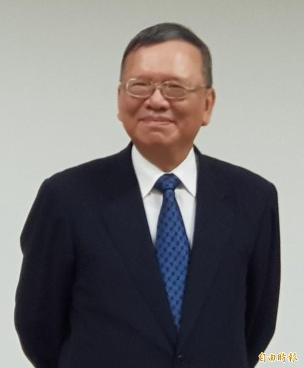 中華電信在第三波4G頻譜競標中搶下主流頻譜,董事長鄭優對此表示滿意。(記者王憶紅攝)