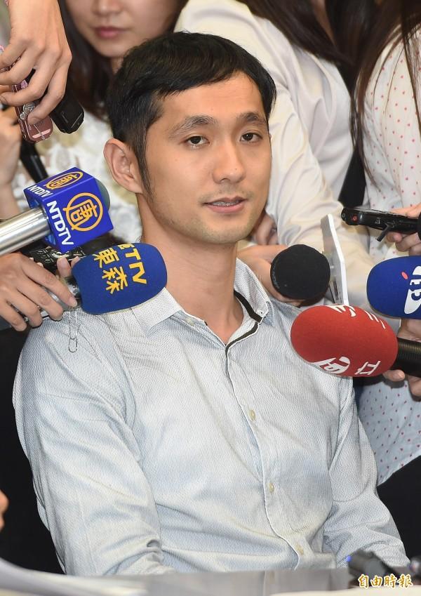 柳林瑋在臉書上PO文證實,自己即日起辭去在沃草一切職務。(資料照,記者廖振輝攝)