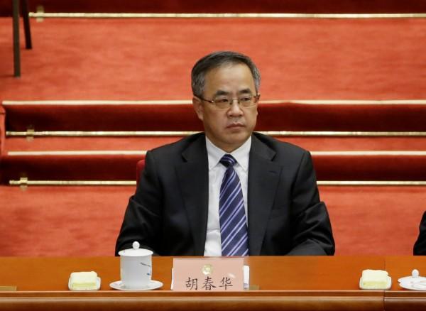 據傳準接班人選之一的廣東省委書記胡春華,已向中央表態不願接班。(路透)