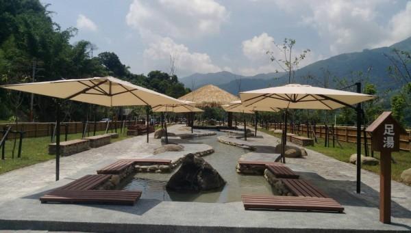 「寶來花賞溫泉公園」即將開放,高市府盼重新打造寶來溫泉成為台灣熱門觀光景點。(記者黃佳琳翻攝)