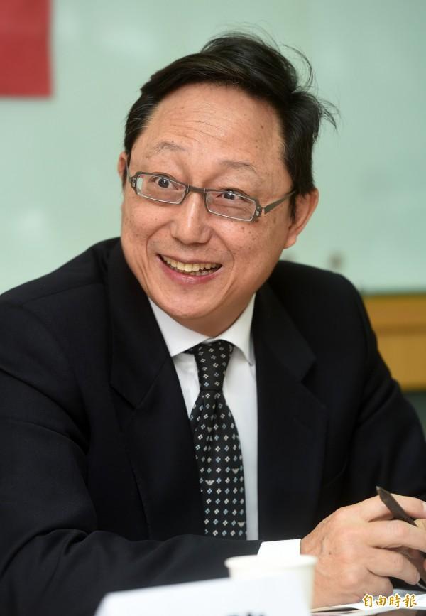 姚立明告訴辛旗「台灣課綱把年輕人變成自然獨」是傻子的想法,這是台灣民主自由氣氛下所形成的結果。(資料照,記者簡榮豐攝)