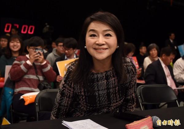 周玉蔻表示,她研判民进党正在安排一位黑马参选台北市长。(资料照)