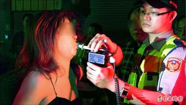 高等法院指警方未依規定讓吳女先漱口即酒測,又拒絕吳女抽血複驗,加上她晚間自費抽血卻未驗出酒精成份,今判吳女無罪確定。示意圖,與本新聞無關。(資料照)