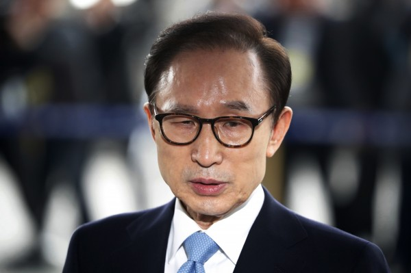 南韓法院批准 拘捕前總統李明博