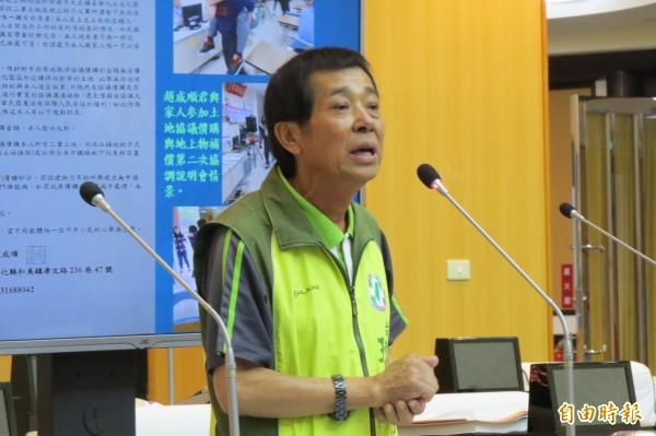 民進黨籍台南市議員王峻潭的住家傳出火警。(資料照,記者蔡文居攝)