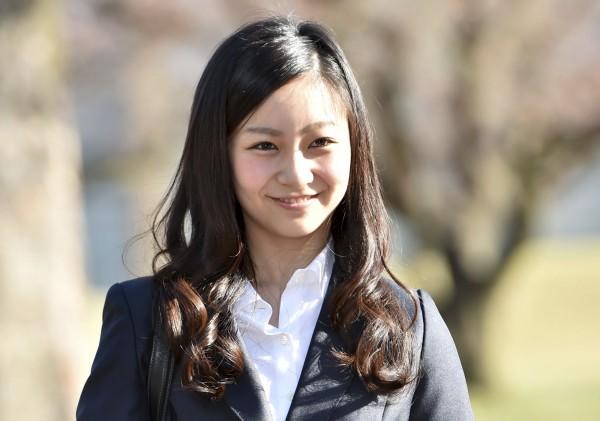 日本「人氣公主」秋篠宮親王次女佳子仍在就讀大學。(資料照,路透)