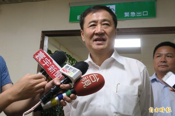 台北市副市長陳景峻表示,並無強迫只是推銷。(資料圖 記者郭安家攝)
