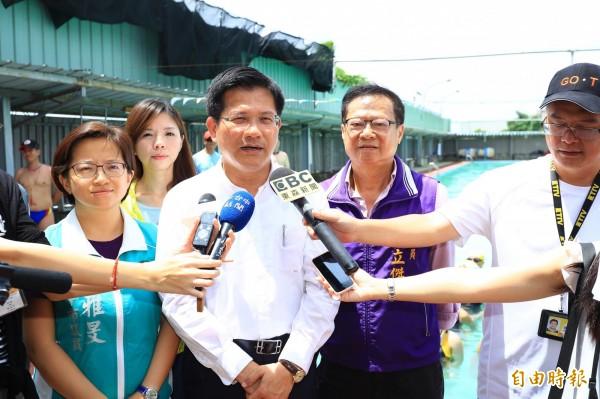 林佳龍盼台灣的民主更加成熟。(資料照,記者李忠憲攝)