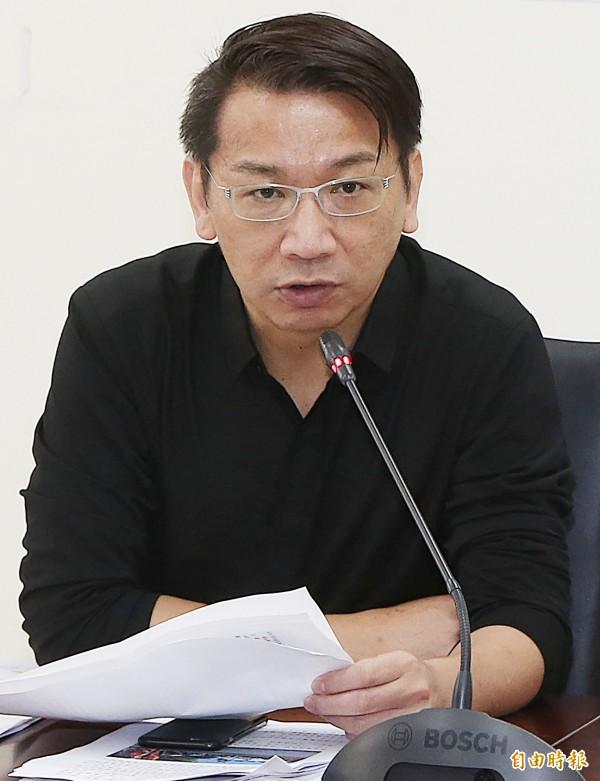 徐永明在臉書上表示,「這是一場堅持的長期抗戰,『落跑王』李來希永遠不會懂。」(資料照,記者陳志曲攝)
