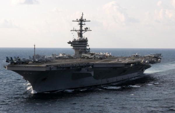 環球時報評論指出,美艦靠台是數十年來對台獨最大支持。(資料圖 翻攝自維基)