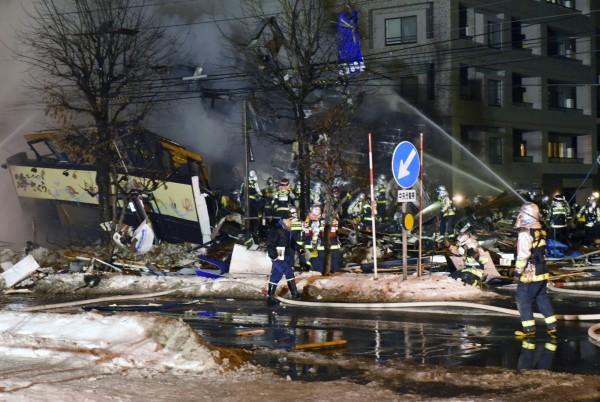日本北海道札幌市一間居酒屋今(16)日晚間發生爆炸。(歐新社)