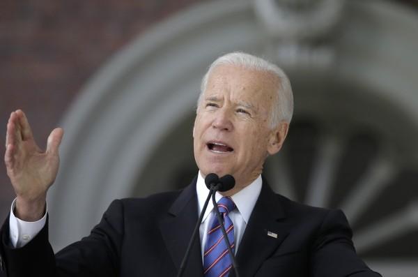 美國前副總統拜登指出,尚未確定是否參選2020美國總統選舉。(美聯社)
