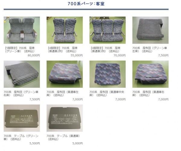 目前到网站浏览,多数商品都已被秒杀。(图撷取自JR东海铁道俱乐部)