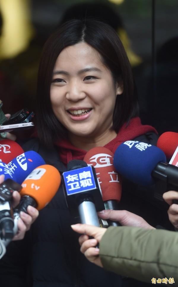 徐巧芯認為國民黨缺乏年輕人認同,是因為不會說故事。(資料照,記者簡榮豐攝)