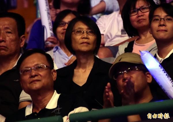 媒體報導,國民黨基層出現支持前總統夫人周美青出馬參選台北市長的聲浪,傳聞更指周美青並未排斥。(資料照)