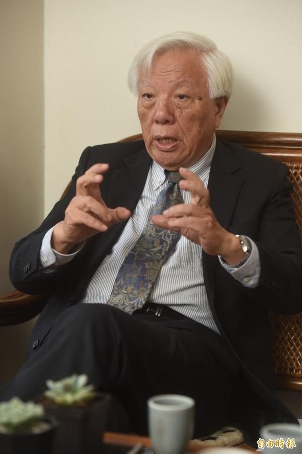 司改國是籌備會議副召集人瞿海源今於專訪中表示,辦案過程中檢警違反「偵查不公開」原則,是最嚴重問題。(資料照,記者簡榮豐攝)