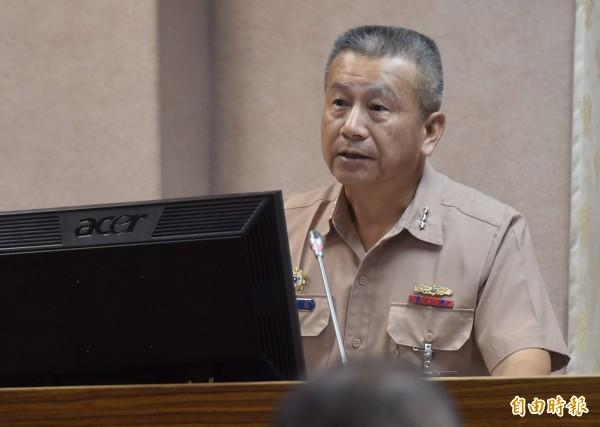 軍政副部長職務將由現任副參謀總長兼執行官蒲澤春上將接任。(資料照,記者簡榮豐攝)