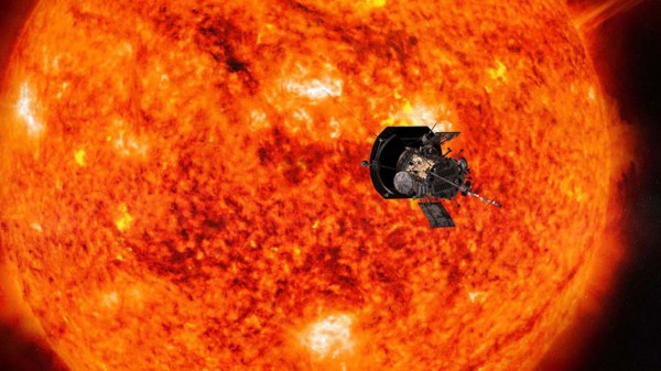 帕克號將展開為期7年的太陽探索任務。(歐新社)