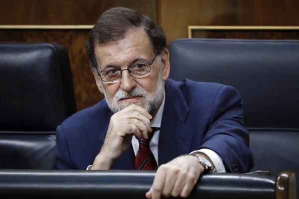 西班牙總理拉荷義與其保守派政府揚言會全力阻止加泰隆尼亞公投。(埃菲通訊社)