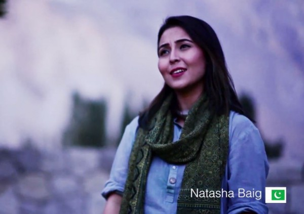「和平之歌」也邀請巴基斯坦歌手演唱。(圖擷自YouTube)