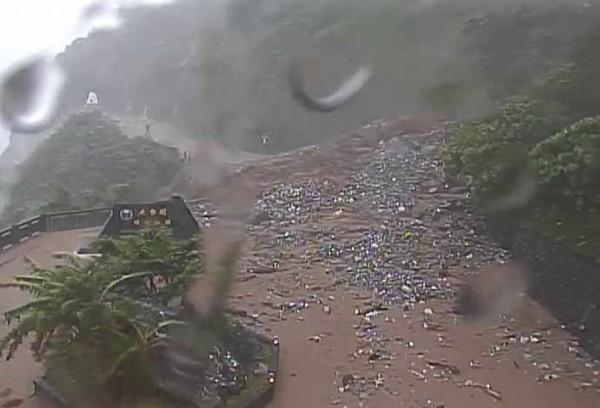 台9線蘇花公路162至171公里崇德往和仁路段坍方,經過一夜搶修後已於今(15日)早7時許恢復通車。(資料照)