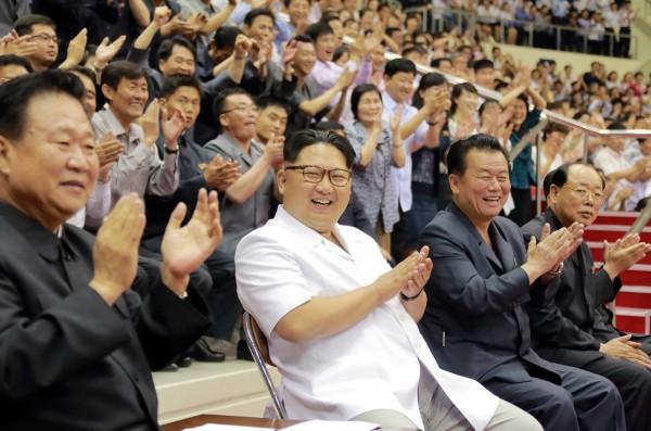 美國和南韓日前進行大規模的軍事演習,北韓對此相當不滿。(法新社)