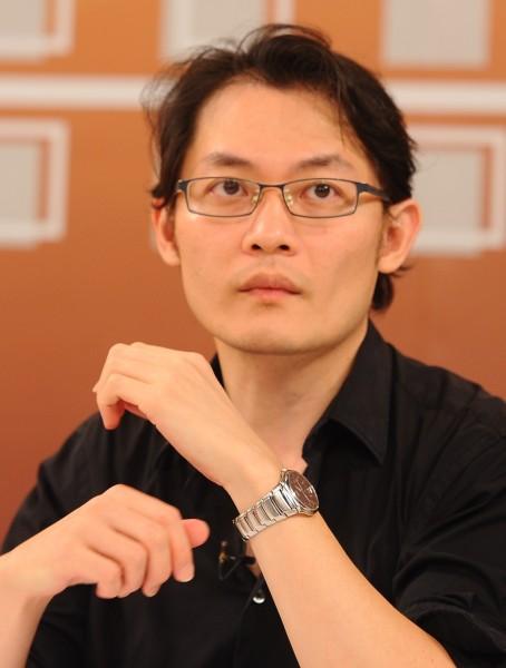 劉敬文(妖西)昨在臉書宣告退出綠黨。(資料照,記者張嘉明攝)