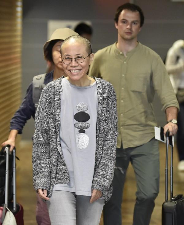 劉霞獲中國當局釋放,結束長達8年的軟禁生活。(美聯社)