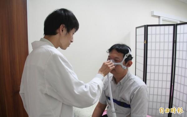 北榮台東分院開設台東唯一的睡眠檢查門診。(記者王秀亭攝)