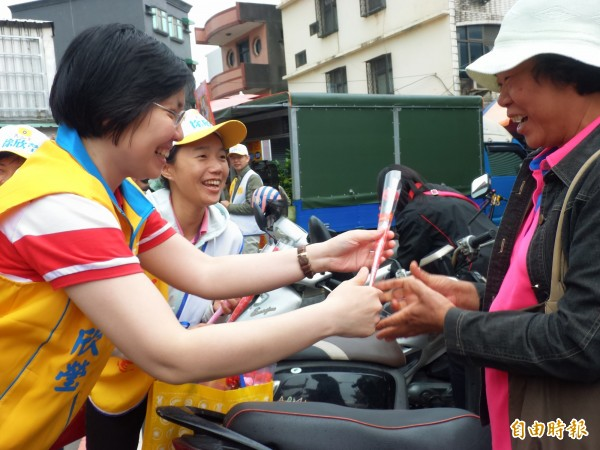 民國黨主席徐欣瑩9日接受採訪時表示,國民黨找了她4次,希望能整合,但她沒有接受將參選到底。讓現下局勢愈來愈複雜。(資料照,記者廖雪茹攝)