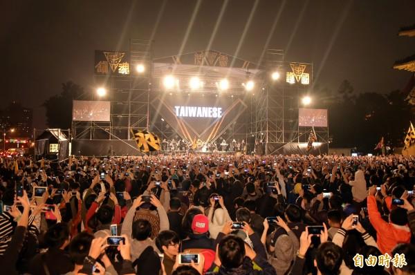 閃靈的歌曲都富有意義,都是「為了悼念那些奮鬥過、抵抗過、遭受外來政權剝奪生命的台灣人,我們的祖先」。(資料照,記者胡舜翔攝)