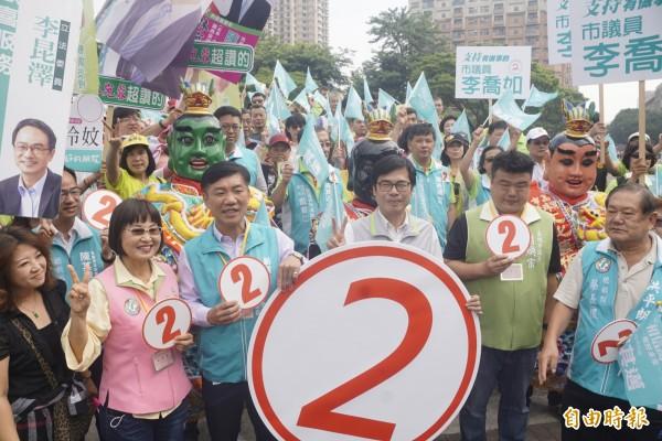 高雄市長候選人陳其邁。(記者黃佳琳攝)