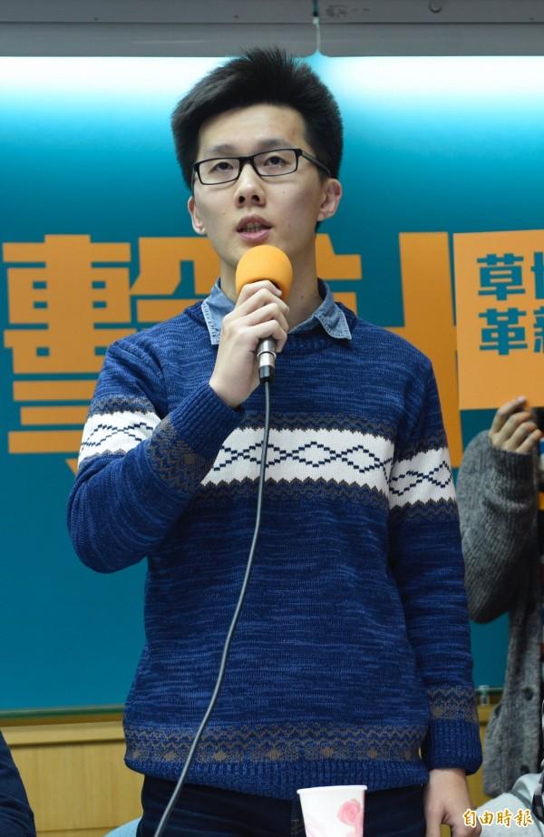 國民黨中常委、青年團總團長蕭敬嚴。(資料照,記者叢昌瑾攝)