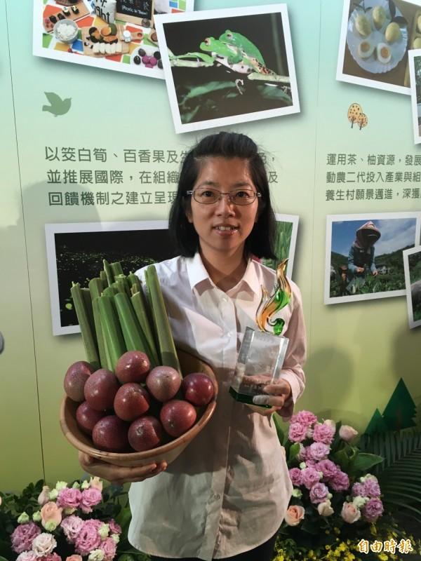 南投桃米休閒農業區從921重創中,找到生態與農業的平衡。(記者林彥彤攝)