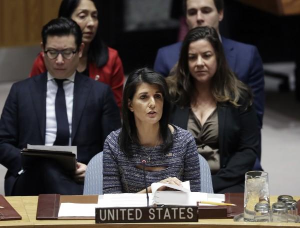 抗議反以色列遷都? 美砍聯合國預算2.85億元