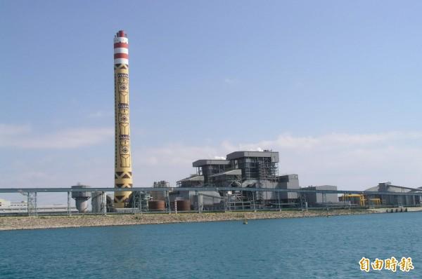 和平電廠1號機已於今天下午併聯。(資料照,記者游太郎攝)