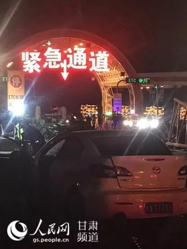 中國蘭州高速公路31車大車禍,已知致已知14死34傷。(圖擷取自網路)