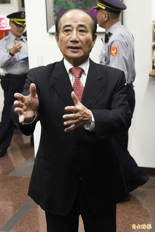 立委王金平。(資料照)