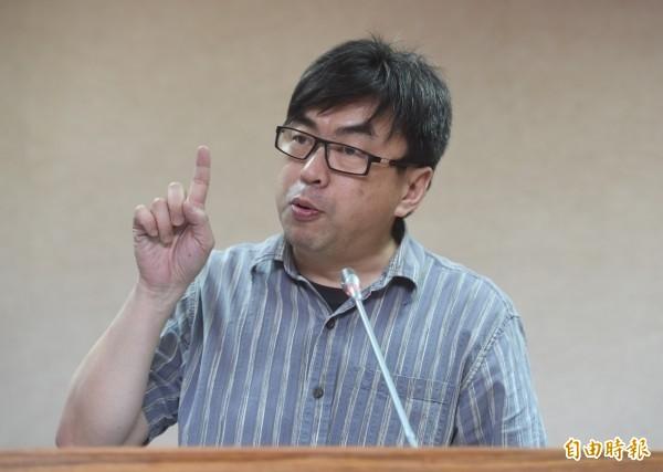 段宜康在臉書酸,「司法改革國是會議,應該邀請傅縣長當致辭嘉賓」。(資料照,記者簡榮豐攝)