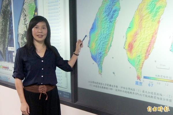 台灣地震科學中心主任馬國鳳表示,南台地震應是「雙主震地震」,一個發生在高雄美濃,一個則在台南,只是因為兩主震間隔太短才被誤認為一個主震。(資料照,記者湯佳玲攝)