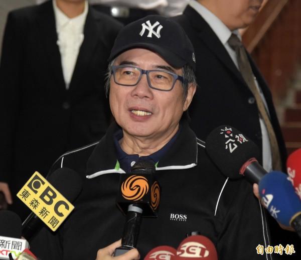 前中影董事長蔡正元被裁定1000萬元交保,限制出境、出海與住居。(資料照,記者黃耀徵攝)