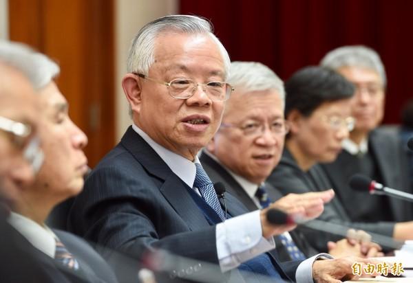 央行總裁彭淮南。(資料照,記者羅沛德攝)