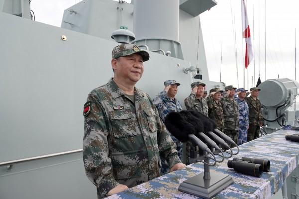 美媒分析,中國實彈軍演意在警告台美兩方。圖為中國國家主席習近平。(路透)