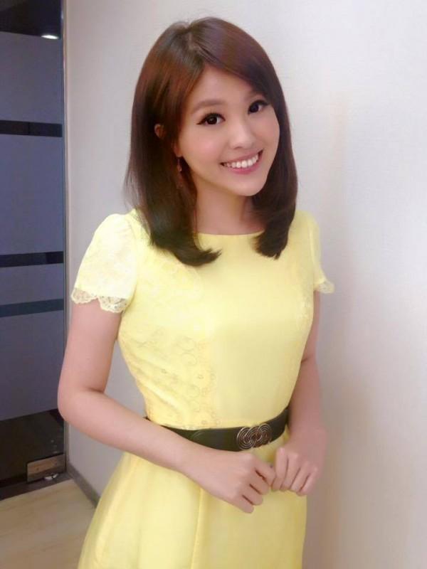 東森新聞主播陳柔安外型甜美,深受觀眾喜愛。(圖擷自陳柔安臉書)
