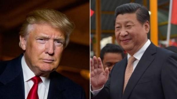 美國總統川普(左)即將與中國國家主席習近平(右)舉行會談,美國前國防官員認為,中國應先撤對台飛彈,以示善意。(美聯社/法新社)