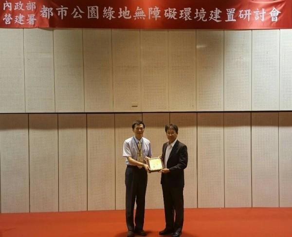 外傳嘉義市建設處長一職將由台南市工務局副局長李國榮(右)接任。(資料照,工務局提供)